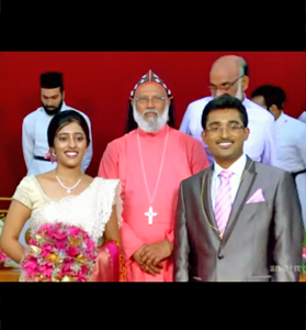 Marriage of Arun K Alex & Reeni Mary Mathew